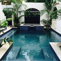 spanish colonial mizner style swimming pool design